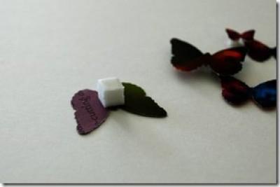Бабочки из бумаги. Мастерим картину