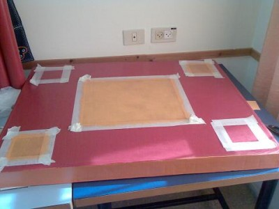 Картонный столик родными руками (фото, мастер-класс)
