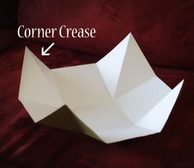 Плетенка из бумаги под сладостное