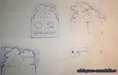 Как сделать календарь своими руками
