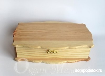Декупаж древесной шкатулки