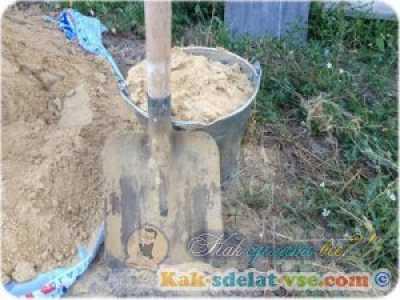 Сколько песка в ведре? Все возможные измерения.