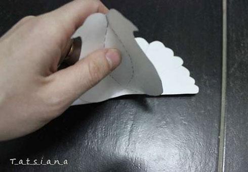 Белоснежные голуби из бумаги