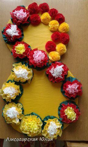 Цветочное панно