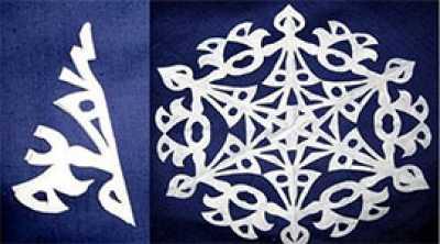 Снежинки своими руками, как верно ложить и вырезать