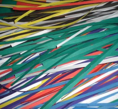 Фальшивки для школы - дерево счастья из бумаги и пластелина