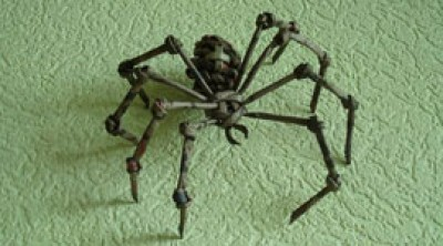 Как из бумаги сделать паука. Изделия из бумажных трубочек
