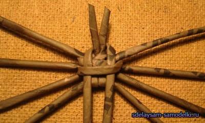 Как из бумаги сделать паука. Изделия из картонных трубочек
