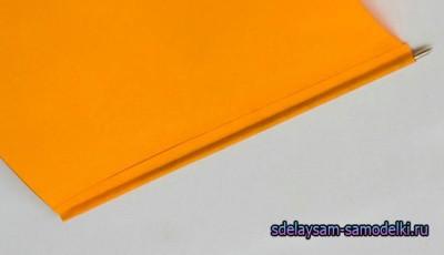 Рукодельная ручка из бумаги родными руками / картонная ручка
