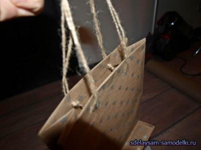 Как сделать картонный фунтик