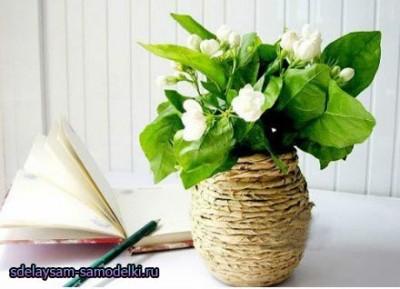 Как сделать вазу близкими руками