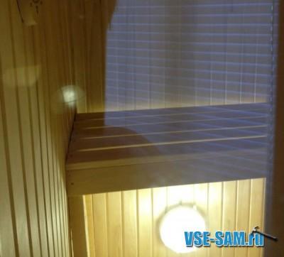 Сауна на балконе в Сургуте