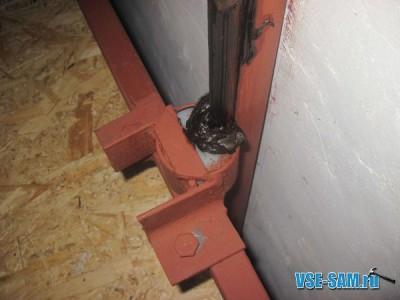 Грузовой лифт родными руками