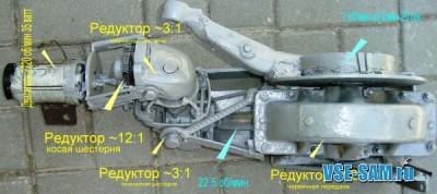 Рукодельное управление автоматическими распашными воротами