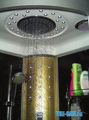 LED душ
