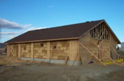 Дом построенный из травы