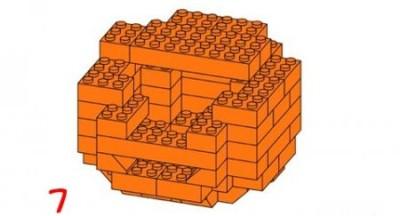Лего-тыква