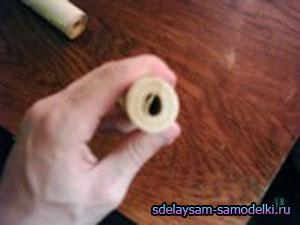 Как сделать из бумаги нунчаки