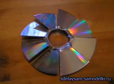 Как сделать вентилятор из диска