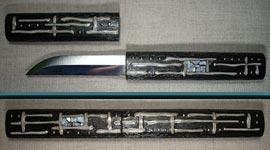 Изготовка чехла и ручки ножика