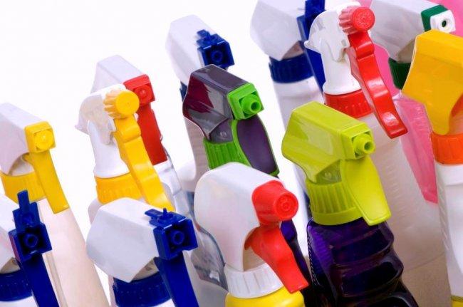 Некоторые типы профессиональных моющих средств